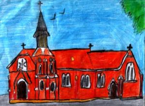 St Patricks Church Painting