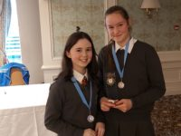 Credit Union Quiz winners (girls)