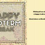 Mid-term Break Photo 1